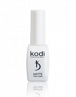 "Matte Top Coat Kodi ""Velour"" (8 ml) матовый топ"