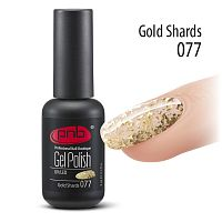Гель-лак PNB 077 Gold Shards