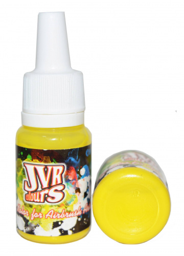 Краска для аэрографии JVR Revolution Kolor Yellow light 102 (10 ml)